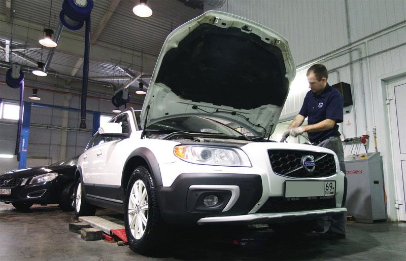 гарантийное обслуживание автомобилей volvo